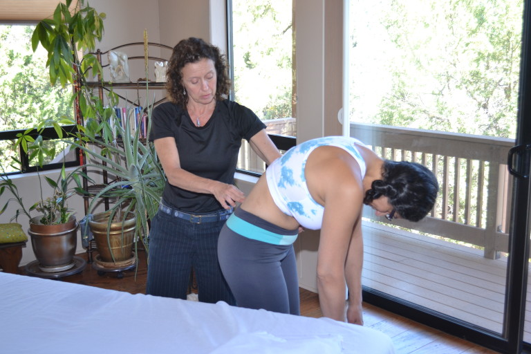 Pelvic pain therapy photo.